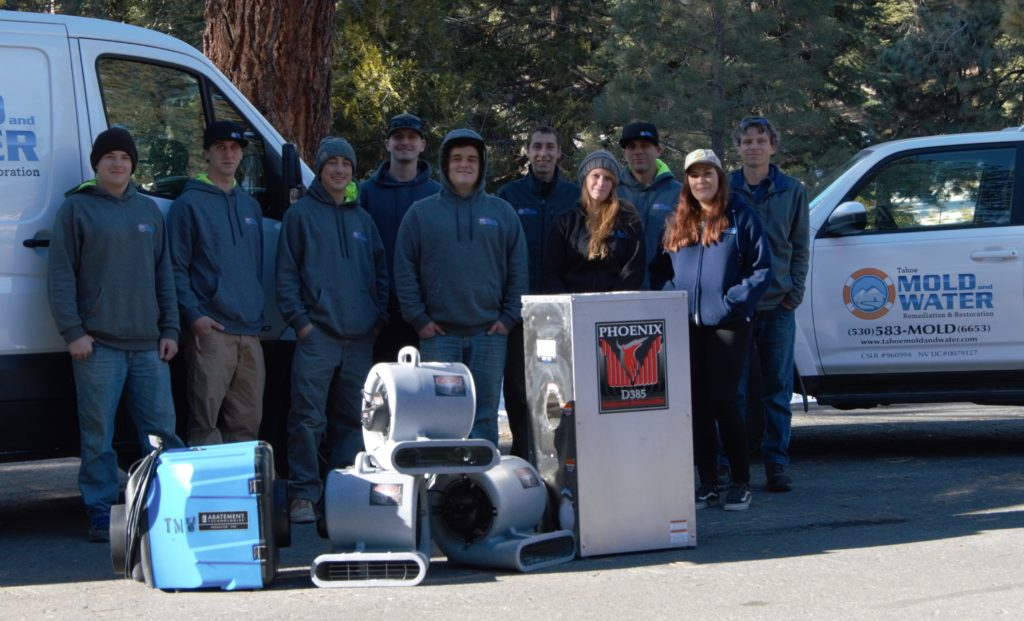 Tahoe Mold & Water Crew Team Members